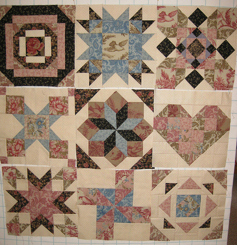 Linda aurifil blocks