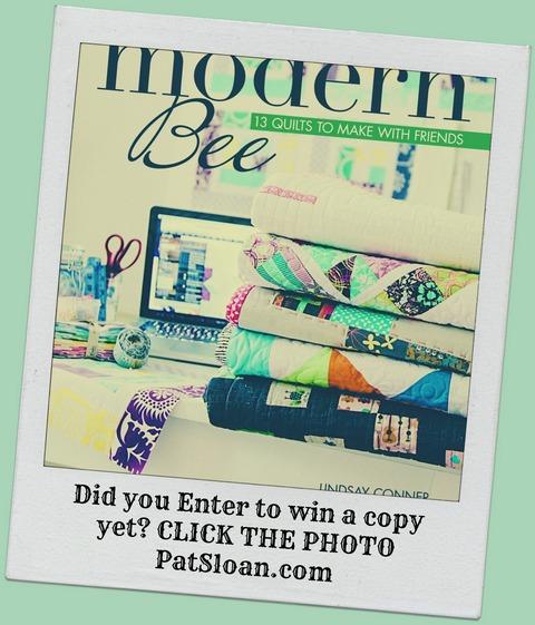 Pat sloan enter button Modern-Bee-Cover