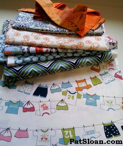 Pat sloan beach fabric quilt 1