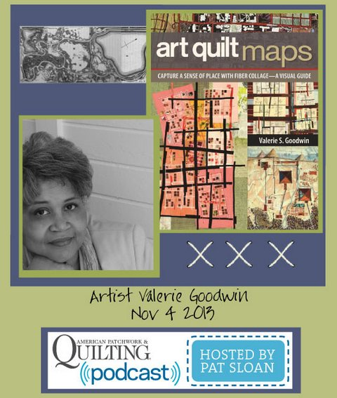 Pat Sloan American Patchwork and Quilting radio Valerie Goodwin guest