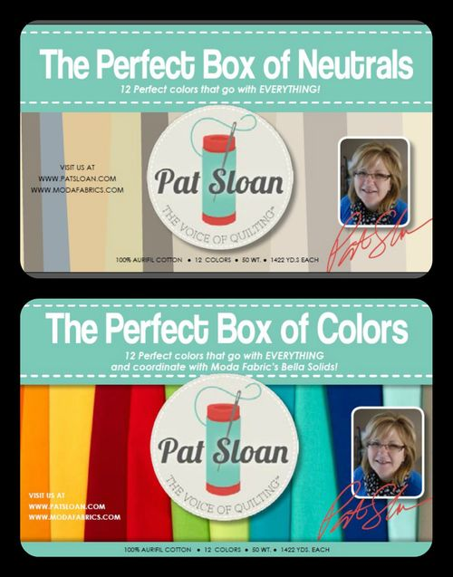 Pat Sloan Aurifil Perfect Box Thread Kits