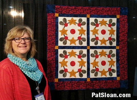 Pat Sloan Quilted in Honor Oct 2013