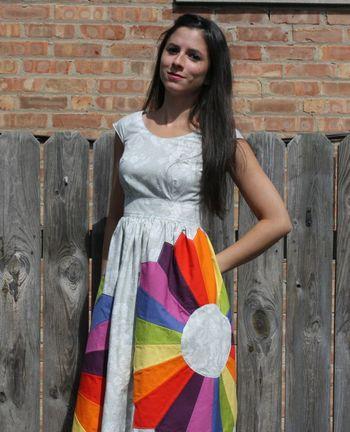 Sara lawson dresden dress