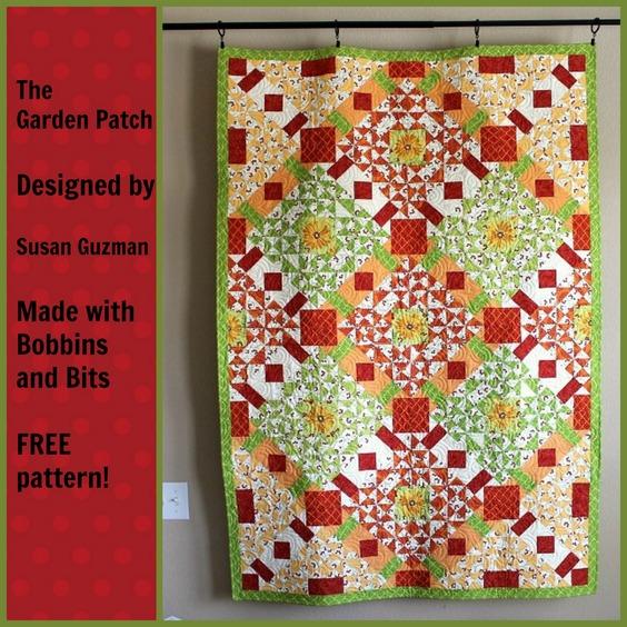 Susan Guzman Garden Patch Quilt