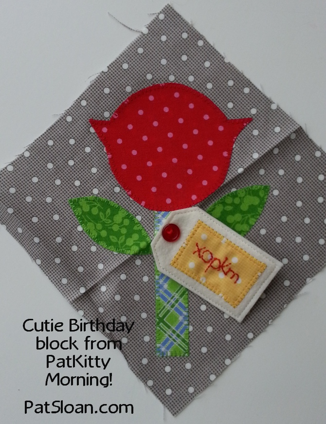 Pat sloan birthday block mail pam kitty