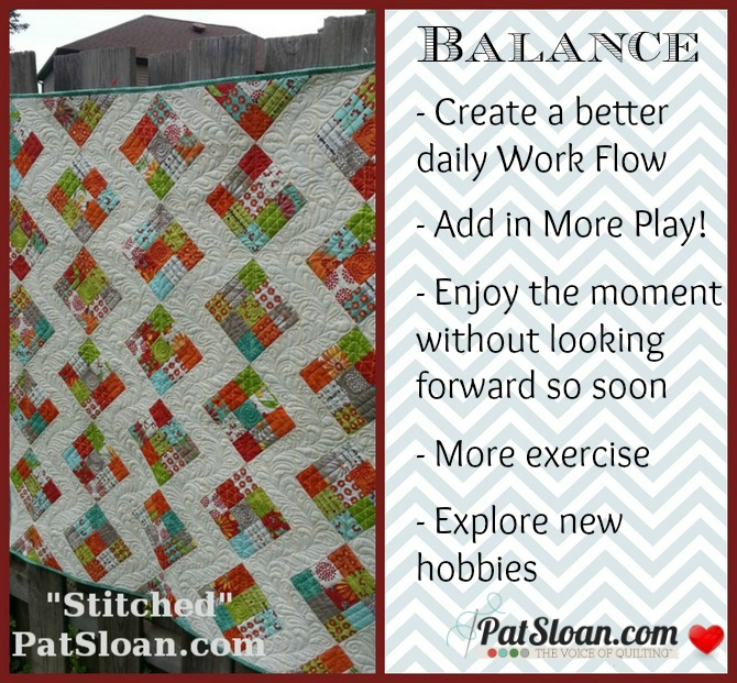 Pat sloan 2014 word balance