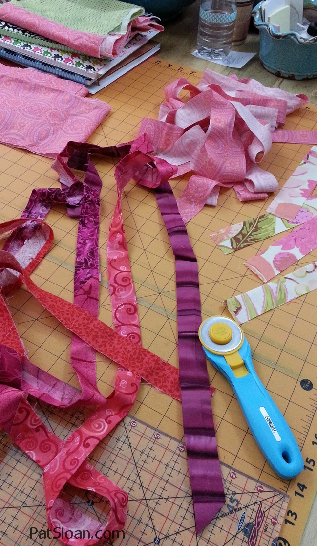 Pat Sloan How to Make Scrappy Quilt Binding 2