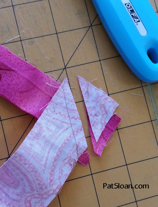 Pat Sloan How to Make Scrappy Quilt Binding 6c