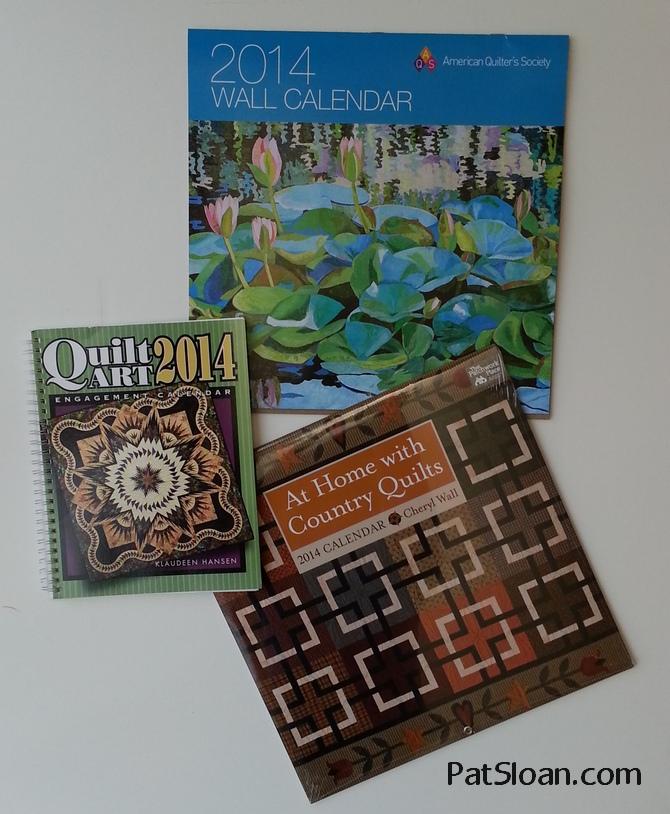 Pat Sloan Quilt Calendar 1