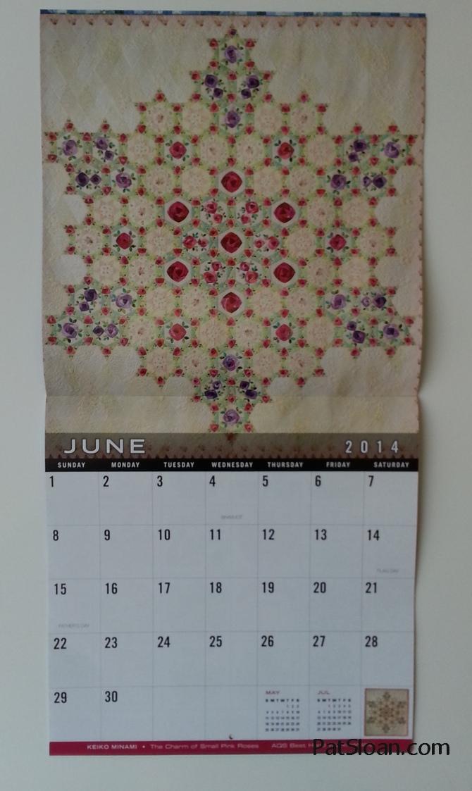 Pat Sloan Quilt Calendar 3