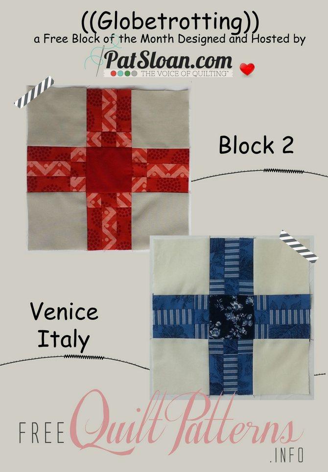 Pat sloan globetrotting block 2 button
