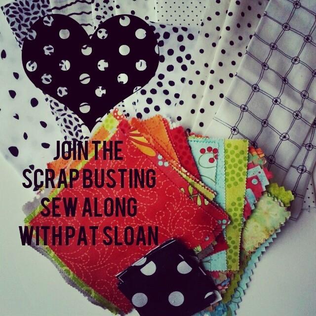 Pat sloan scrap busting sew along