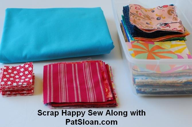 Pat sloan scrap busting sew along pic 3