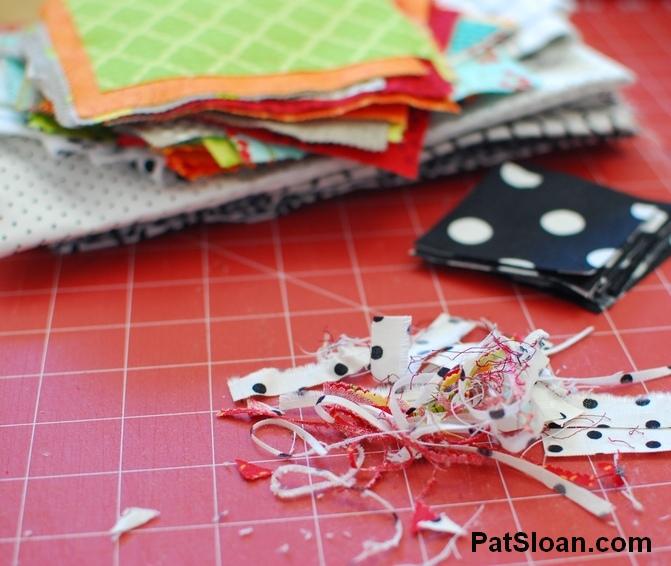 Pat sloan scrap busting sew along pic 5