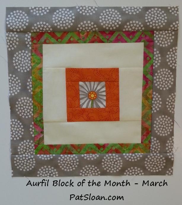 Pat sloan 2014 mar aurifil block single