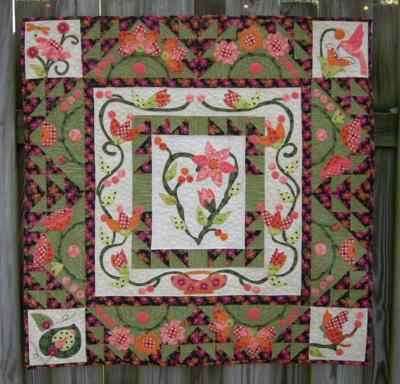 Meadow breeze part 9 pic Completed quilt