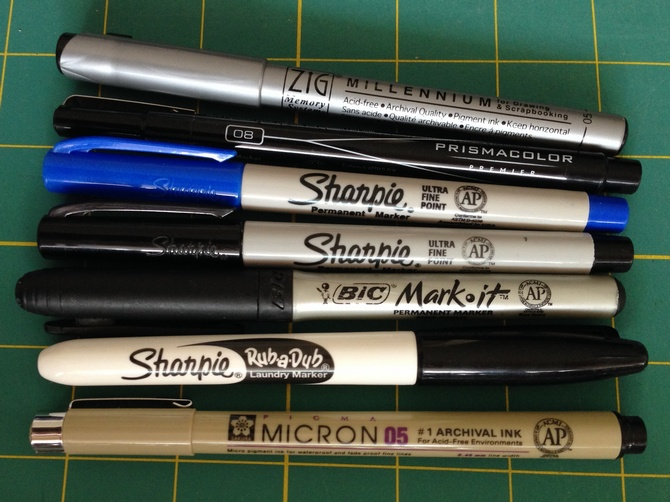 Pat Sloan: Quilt Label Writing Round Up - Pat Sloan's Blog : marking pens for quilting - Adamdwight.com