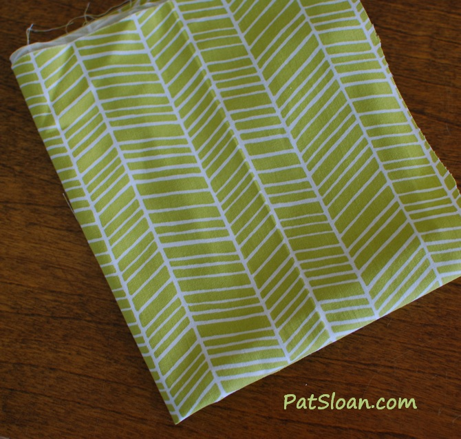 Pat sloan green stripe