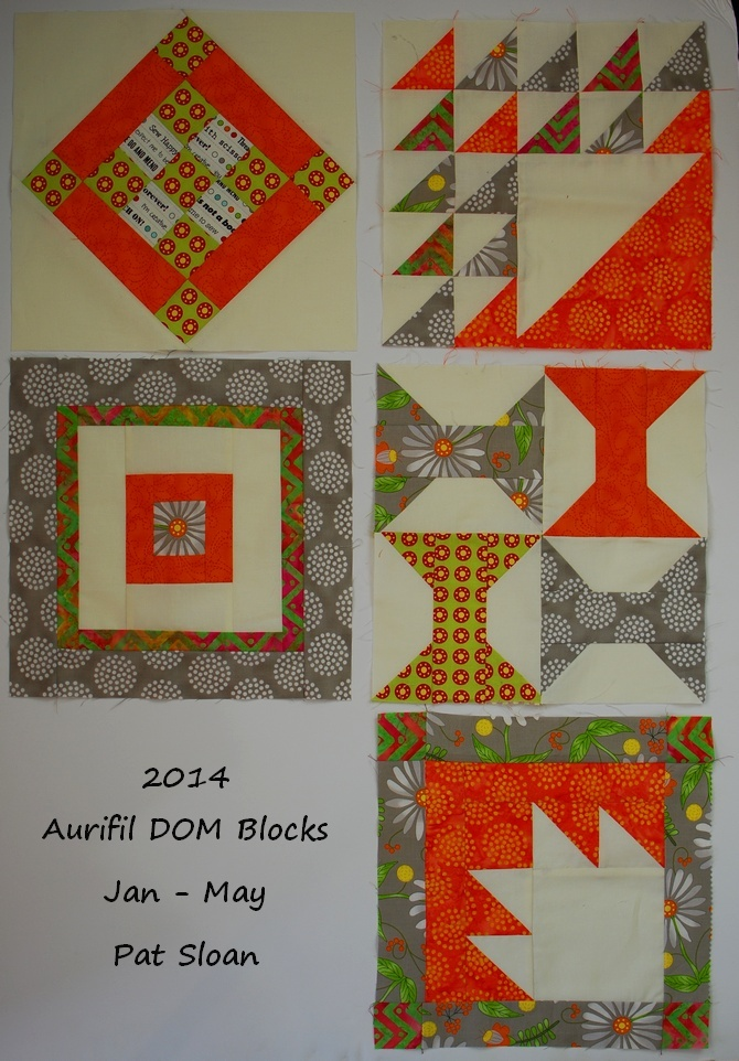 Pat Sloan Jan to may 2014 aurifil block together