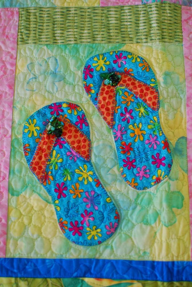 Pat Sloan Flip flops in paradise 6