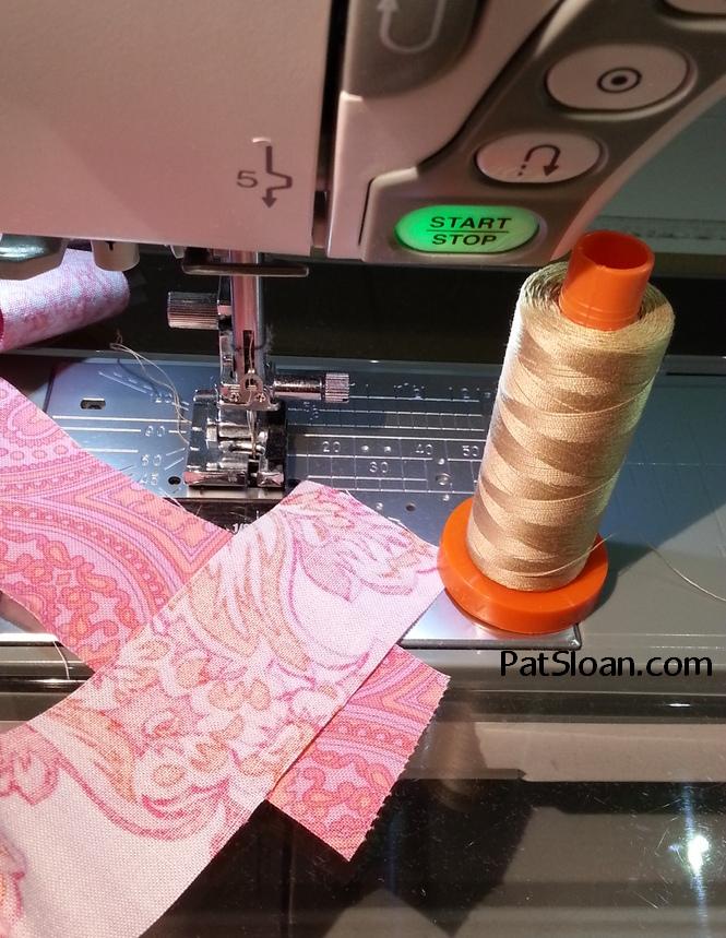 Pat Sloan How to Make Scrappy Quilt Binding 5b