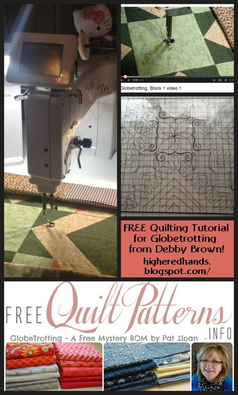 Debby Brown machine quilting tutorials