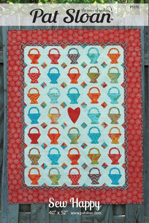 Pat Sloan Sew Happy pattern cover only