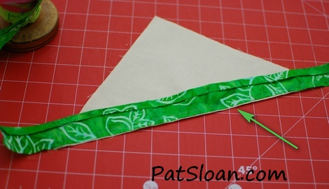 Pat Sloan triangle label 5