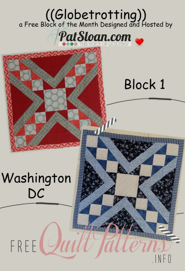 Pat Sloan's QuiltersHome: *** Pat Sloan's Free Patterns : free quilt block of the month - Adamdwight.com