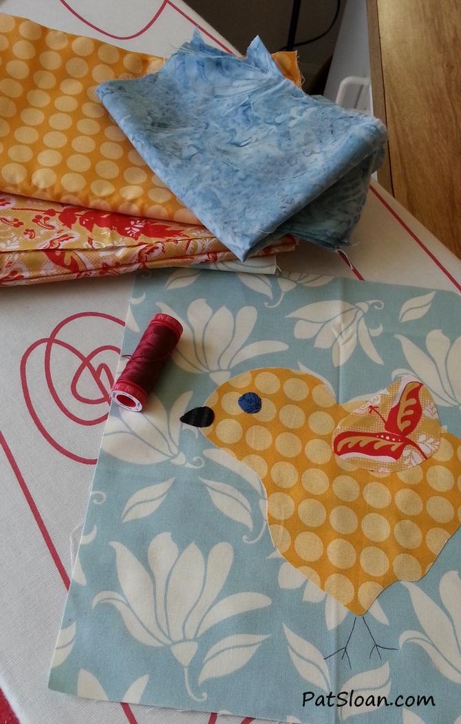 Pat Sloan Spring Chick free pattern 3