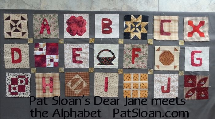 Pat sloan quilters alphabet v1