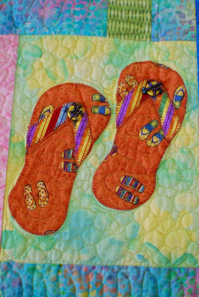 Pat Sloan Flip flops in paradise 5