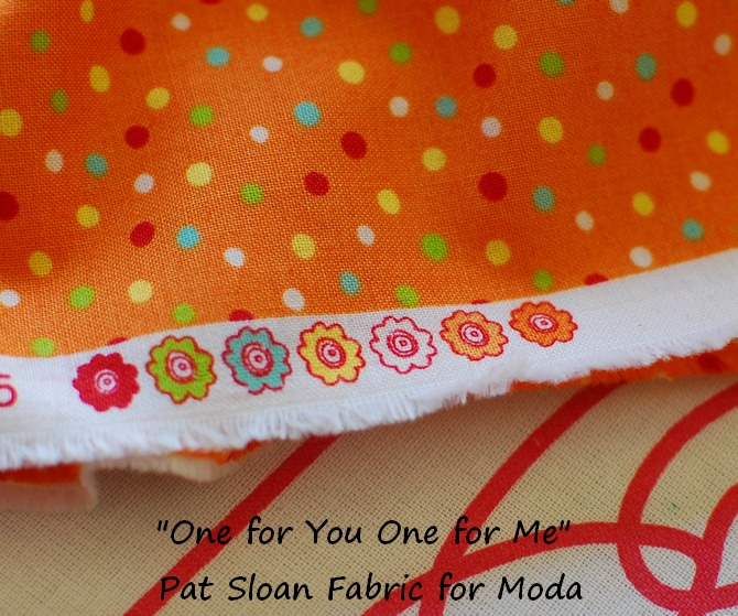 Pat Sloan fabric edge