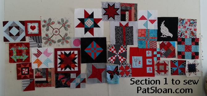 Pat loan section 1 to sew