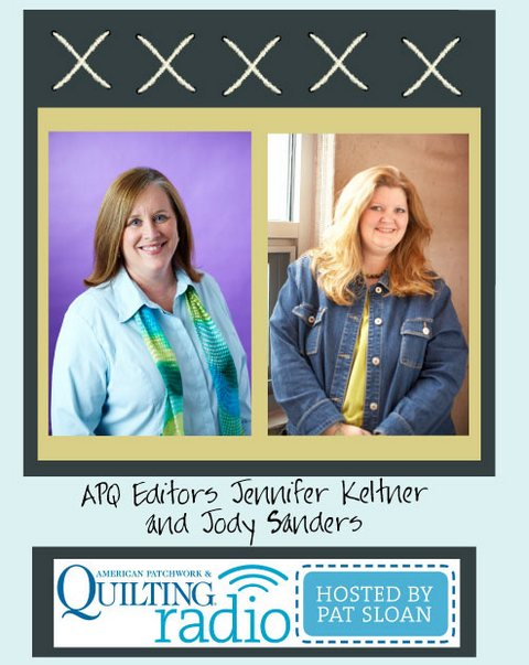 1 Pat sloan apq radio jennifer keltner and jody sanders guest button