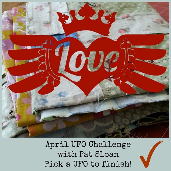 Pat sloan April UFO Challenge