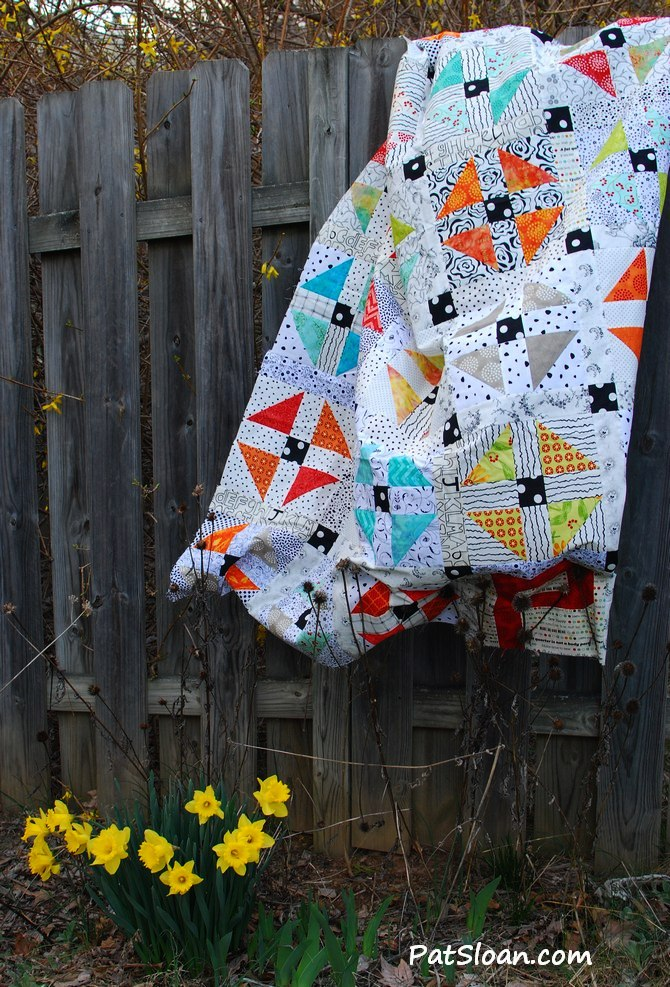 Pat Sloan Scrap Happy Sew Along My Quilts Progress Pat