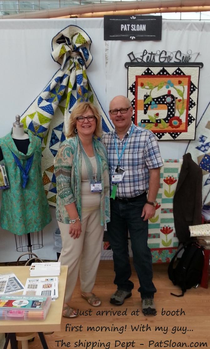 Pat sloan quilt market spring 2014 gregg and i