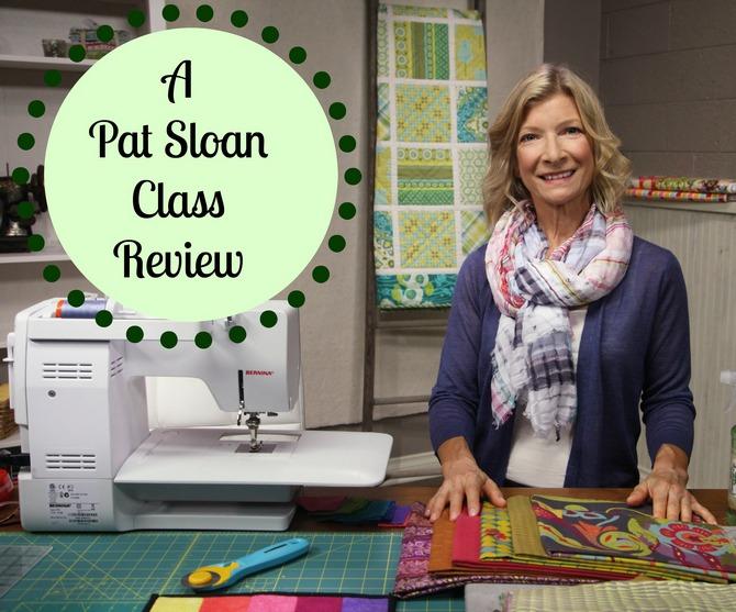 Pat sloan workshop review button