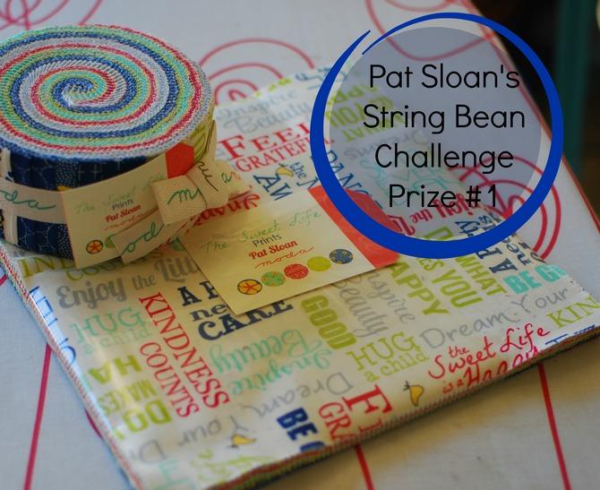 Pat sloan string bean challenge prize 1