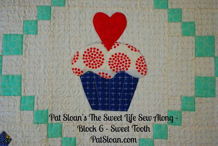 Pat Sloan Sweet Life Sew Along block 6