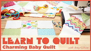 Pat sloan learn to quilt banner