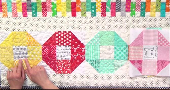 Pat sloan colorful scrap quilt review 3