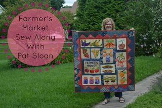 Pat Sloan Farmer Market Sew Along