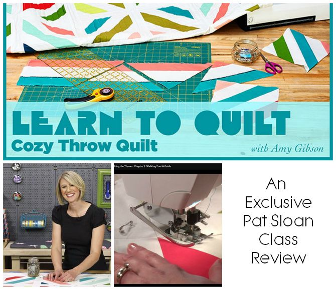 Pat sloan learn to quilt review 1