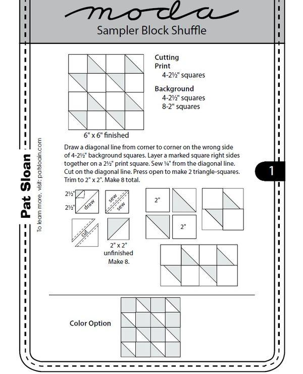 Pat sloan pattern 1
