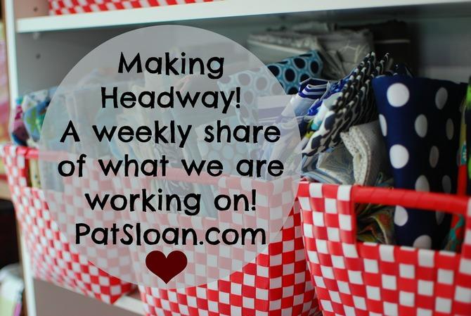 Pat sloan making headway