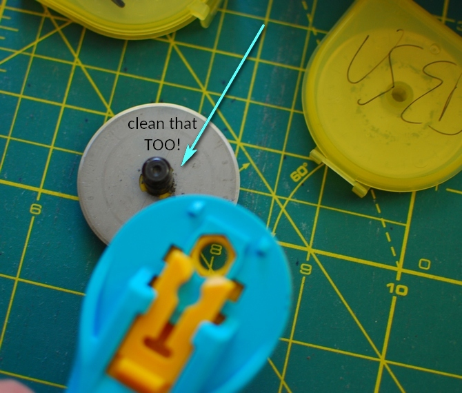 Pat sloan clean the rotary cutter2