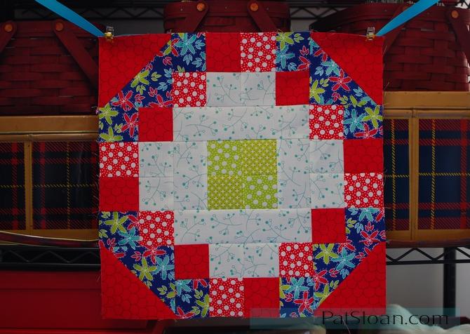 Pat sloan the secret garden block 4 color2