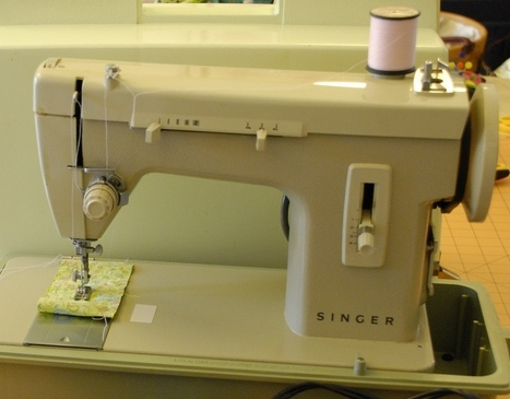 Pat sloan old sewing machine